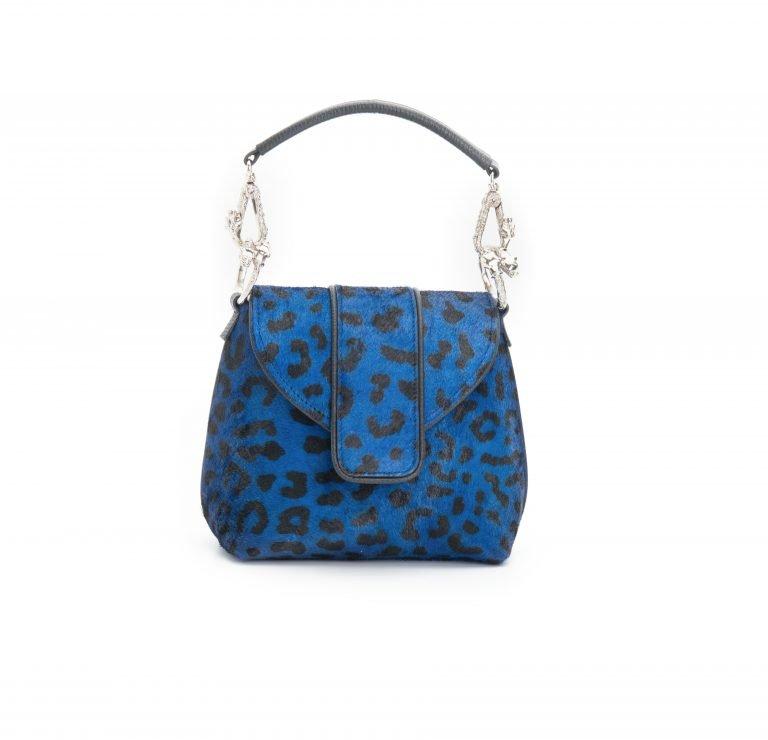 Royal Blue - Leopard