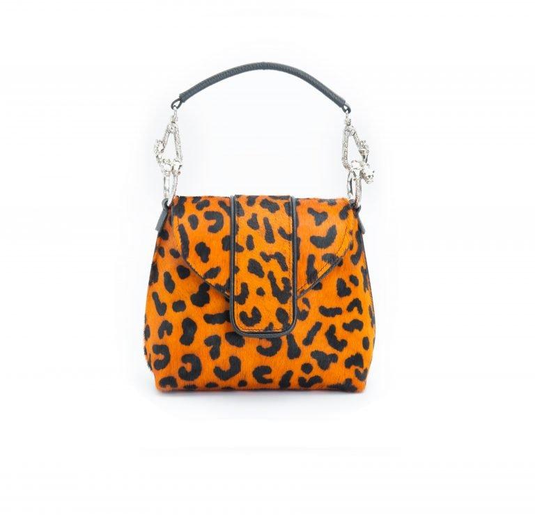 Orange - Leopard